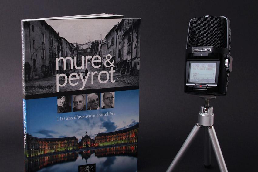 Conception et rédaction du livre anniversaire de la PME bordelaise Mure et Peyrot.