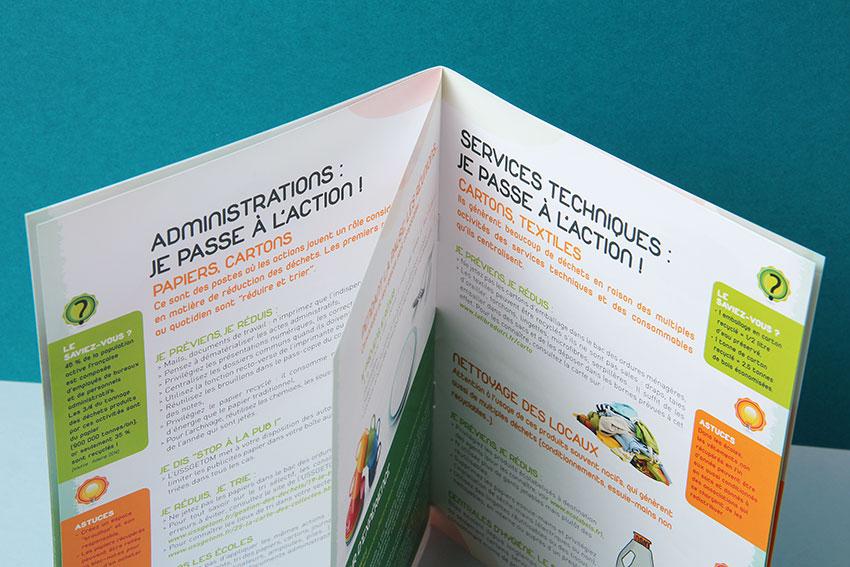 Conception-Rédaction d'un guide sur le recyclage des déchets.
