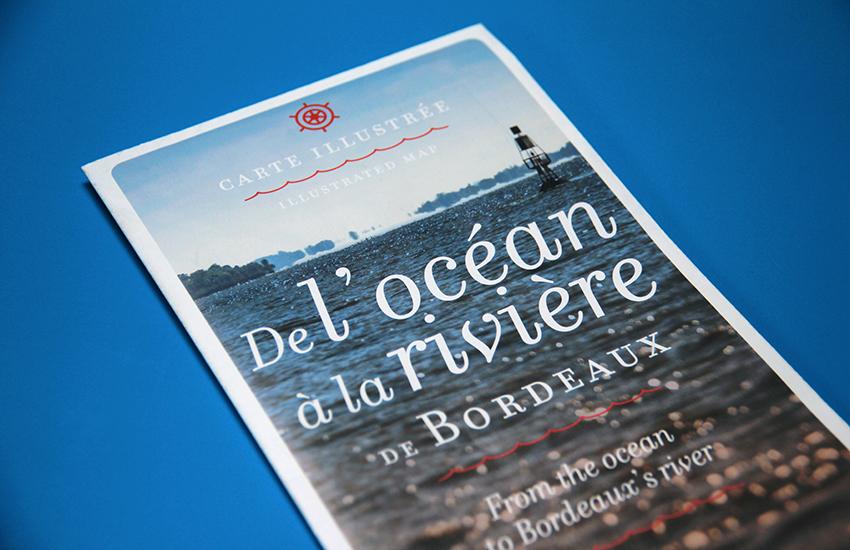 Brochure de communication rédigée pour Bordeaux River Cruise.