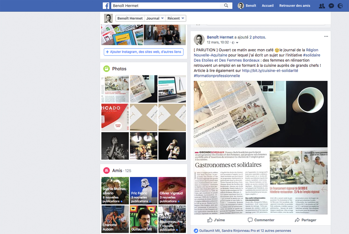 Création de contenus pour les réseaux sociaux à Bordeaux